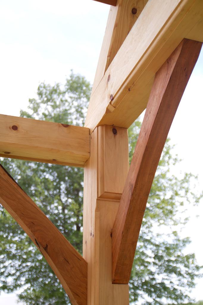 Timber Framing | White Oak Timber Frame