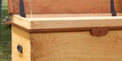 Tool box left view