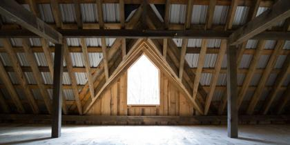 Barn Interior Window