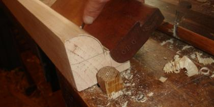 Hand Planing the Trim