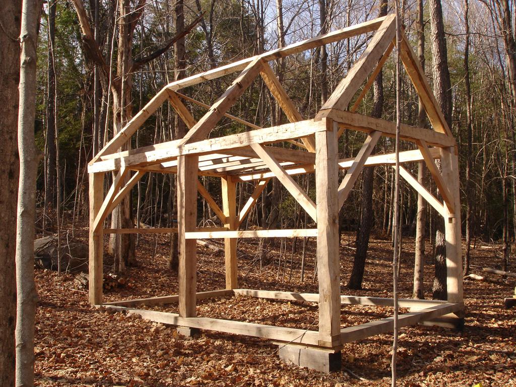 Timber Framing White Oak Timber Frame